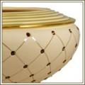 Murano Cream Gold