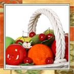 Декоративные фрукты и украшения для кухни