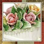 Керамические букеты, фарфоровые цветы
