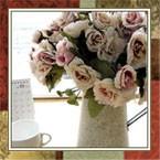 Искусственные цветы и букеты