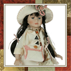 куклы декоративные, фарфоровые