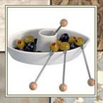 Блюда для оливок, маслин