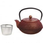 Заварочный чайник чугунный с эмалированным покрытием внутри 1150 мл (кор=8шт.)