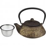 Заварочный чайник чугунный с эмалированным покрытием внутри 800 мл (кор=8шт.)