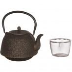 Заварочный чайник чугунный с эмалированным покрытием внутри 1400 мл (кор=8шт.)