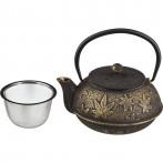 Заварочный чайник чугунный с эмалированным покрытием внутри 600 мл (кор=8шт.)
