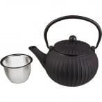Заварочный чайник чугунный с эмалированным покрытием внутри 500 мл (кор=8шт.)