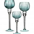 Комплект из 3-х ваз интерьерных диаметр=13 см высота=30/35/40 см (кор=2комп.)