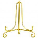 Комплект подставок для тарелок из 10 шт. высота=10 см металлическая цвет - золото (кор=72комп.)