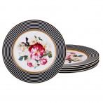 Набор десертных тарелок из 6 шт диаметр=19,5 см (кор=12набор.)