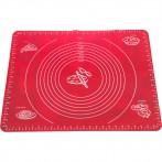 Силиконовый коврик для раскатки теста 50*40 см. (мал=12шт./кор=48шт.)
