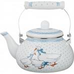 Чайник эмалированный 2,5 л. (кор=8шт.)