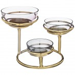 Чаша декоративная 25.50*25.50*18.50 см (кор=1шт.)