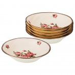 Набор тарелок из 6 шт. диаметр=19,5 см. (кор=8набор.)