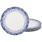 Набор тарелок подстановочных из 6 шт. диаметр=27 см. (кор=4набор.)