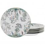 Набор десертных тарелок 6 шт., диаметр 20 см. (кор=8набор.)