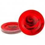 Набор тарелок из 6 шт. диаметр=19 см (кор=8набор.)