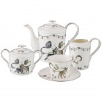 Чайный набор на 6 персон, 15 пр. 1000/400/350/250 мл. (кор=2набор.)