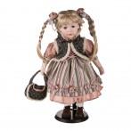 Кукла фарфоровая высота=42 см.(кор=6шт.)