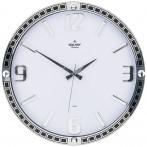 Часы настенные кварцевые диаметр 39,5 см диаметр циферблата 34,9 см (кор=10шт.)