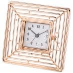 Часы настольные 14*14*11 см. диаметр циферблата 5,5 см. (кор=12шт.)