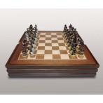 (KIT) Шахматы ''Бородино'' (полистоун)