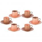 Кофейный набор на 6 персон , 12 пр 80 мл
