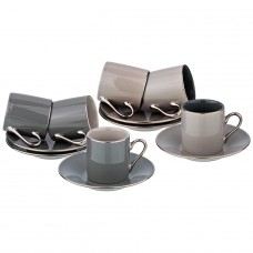 Кофейный набор на 6 персон , 12 пр 100  мл (кор=12набор.)