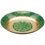Блюдо «jasmin» green 30 cm  без упаковки (мал 4шт)