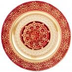 Тарелка «jasmin» red 28 cm без упаковки (мал 6шт)