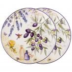 Набор тарелок закусочных