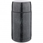 Термос agness с широким горлом и крышкой-чашкой, 1000мл, колба нжс (кор=12шт.)