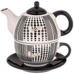 Набор 2 пр. чайник объем 490 мл и чашка объем 280 мл  коллекция