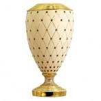 "Ваза декоративная ""Murano Cream Gold"""