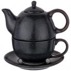 Набор 2 пр. чайник объем 400 мл и чашка объем 329 мл  коллекция