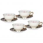 Чайный набор lefard на 4 персоны 8 пр. 220 мл (кор=6наб.)