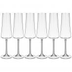 Набор бокалов для шампанского из 6 штук