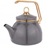 Чайник agness эмалированный, серия deluxe, 2,3л, подходит для индукции