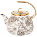 Чайник эмалированный agness, серия royal garden 3,0л подходит для индукцион.плит