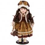 Кукла фарфоровая декоративная высота 42см