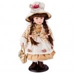 Кукла фарфоровая декоративная высота=40 см.(кор-6шт.)