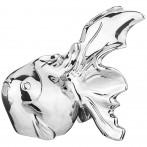 Статуэтка рыба серебряная коллекция 22*15*20 см