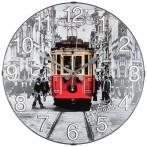 Часы настенные кварцевые диаметр 35,5 см диаметр циферблата 34,5 см (кор=10шт.)