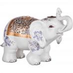 Фигурка-слон белый