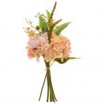 Букет искусственных цветов высота=36 см без упаковки (мал=24шт./кор=144шт.)