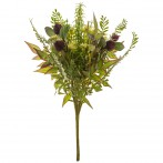 Букет искусственных цветов высота=44 см без упаковки (мал=16шт./кор=160шт.)