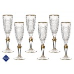 Набор бокалов для шампанского из 6 шт