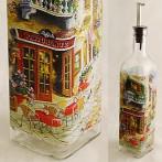 "Бутылка для масла ""Итальянская улица"""
