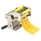 Машинка для раскатки теста и нарезания лапши + насадка для пельменей и нож для теста