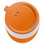 Кружка  с крышкой AROMA TO GO Koziol, оранжевый